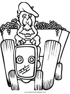 Weintrauben Malvorlage