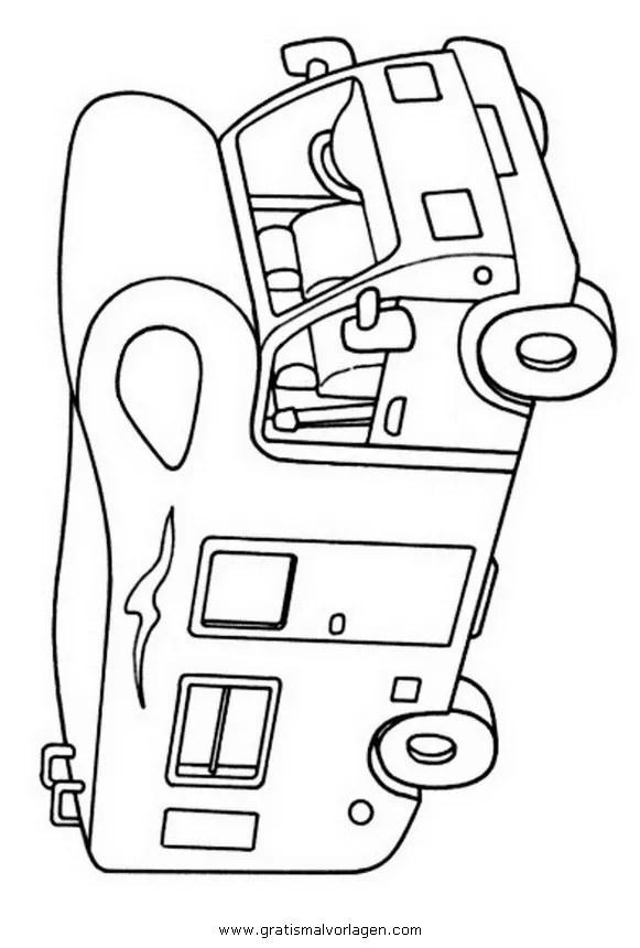Wohnmobil gratis Malvorlage in Lastwagen Transportmittel