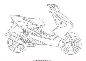 Yamaha 13 gratis Malvorlage in Motorrad Transportmittel