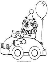 zirkus 21 gratis Malvorlage in Fantasie, Zirkus   ausmalen