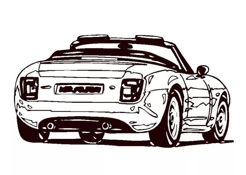 Autos_00460 gratis Malvorlage in Autos Mobil - ausmalen