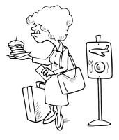 Flughafen 00154 gratis Malvorlage in Flughafen, Mobil ...
