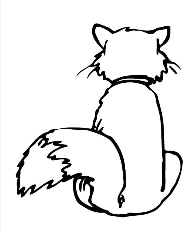 Katzen_00742 gratis Malvorlage in Katzen Tiere - ausmalen