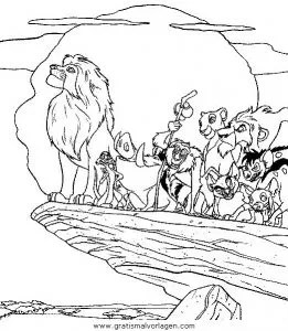 Der konig der lowen126 gratis Malvorlage in Comic
