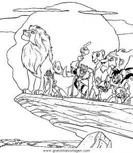 Der konig der lowen42 gratis Malvorlage in Comic