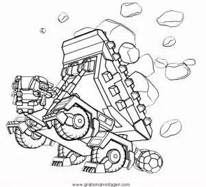 Dinotrux-3 gratis Malvorlage in Comic & Trickfilmfiguren