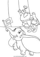 dumbo 19 gratis Malvorlage in Comic & Trickfilmfiguren ...