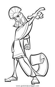 Ein konigreich fur ein lama14 gratis Malvorlage in Comic