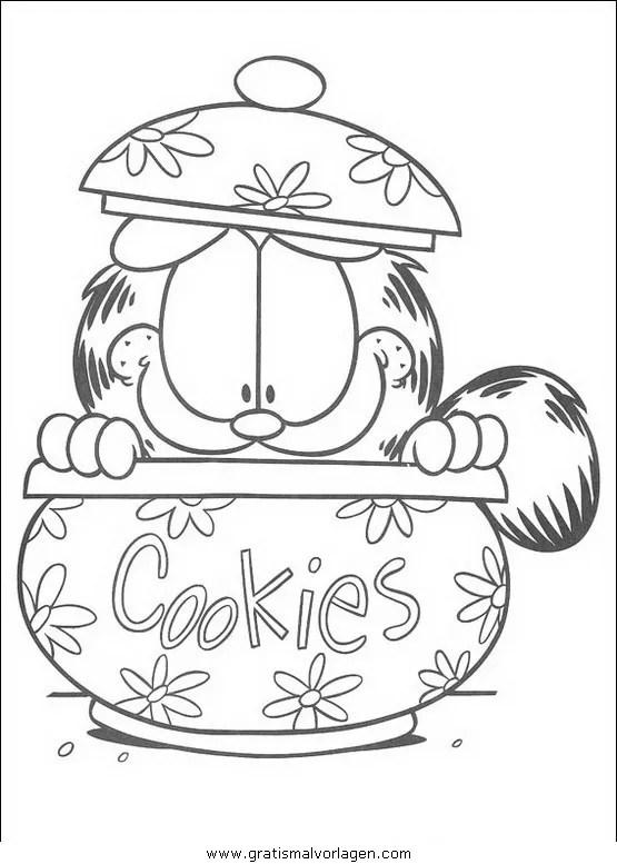 Garfield Malvorlagen Gratis