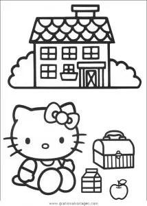 Hello kitty 12 gratis Malvorlage in Comic