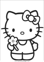 hello kitty 14 gratis Malvorlage in Comic ...