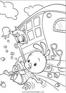 Himmel und huhn 04 gratis Malvorlage in Comic
