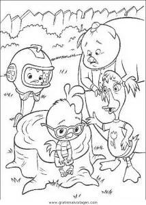 Himmel und huhn 47 gratis Malvorlage in Comic