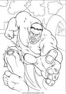 Hulk 11 gratis Malvorlage in Comic & Trickfilmfiguren