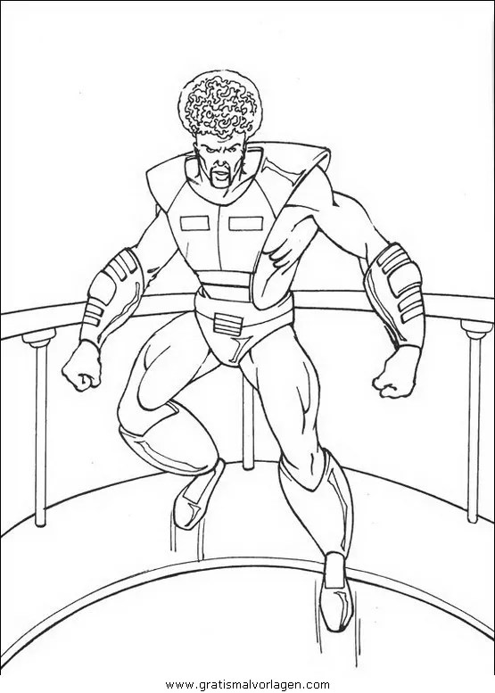 Malvorlage Hulk
