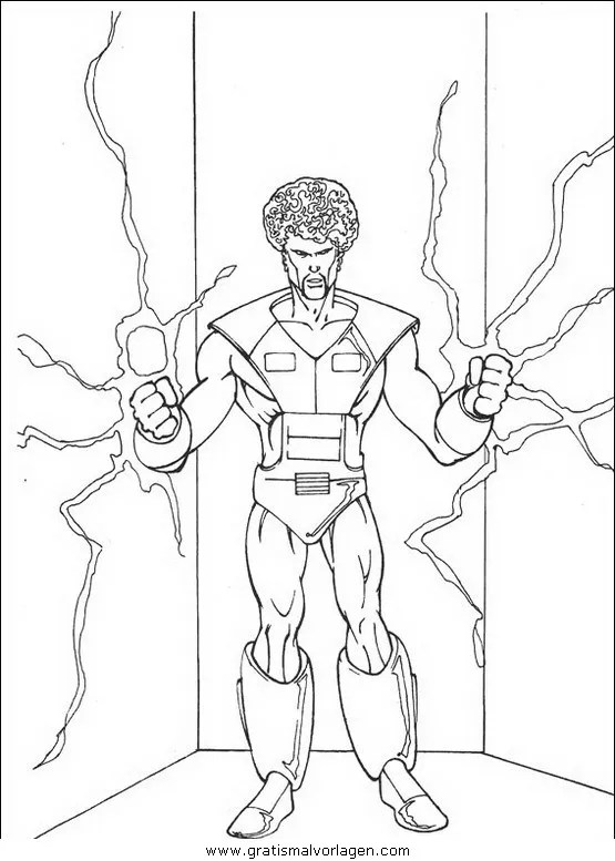 Hulk 40 gratis Malvorlage in Comic & Trickfilmfiguren