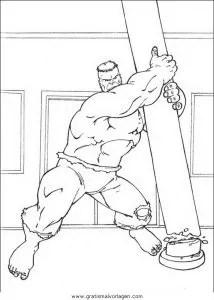 Hulk 54 gratis Malvorlage in Comic & Trickfilmfiguren
