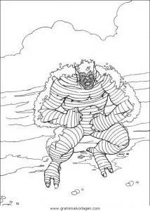 Hulk 55 gratis Malvorlage in Comic & Trickfilmfiguren