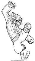 kung fu panda 04 gratis Malvorlage in Comic ...