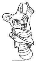 kung fu panda 08 gratis Malvorlage in Comic ...