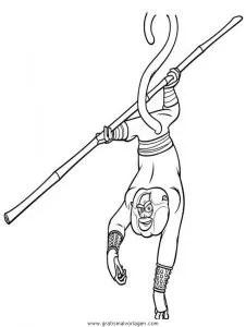 Kung fu panda 23 gratis Malvorlage in Comic