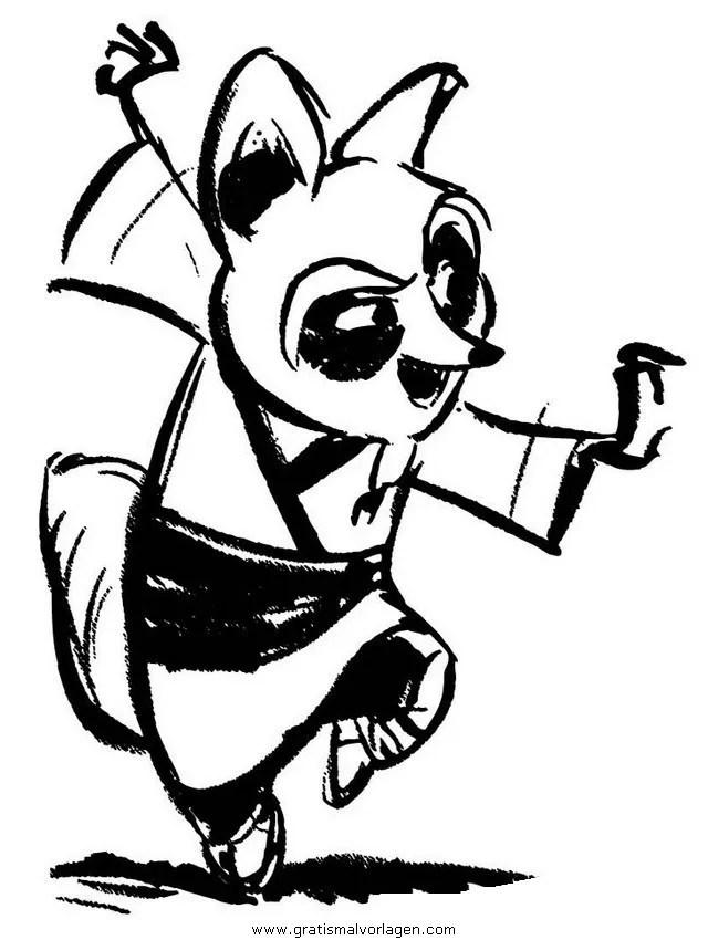 Kung fu panda 29 gratis Malvorlage in Comic