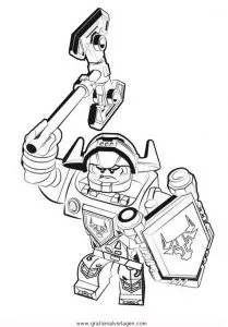 Lego-nexo-knights-32 gratis Malvorlage in Comic