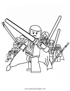Lego-star-wars-07 gratis Malvorlage in Comic