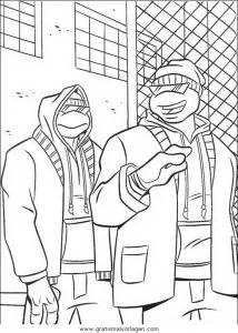 Ninja turtles37 gratis Malvorlage in Comic
