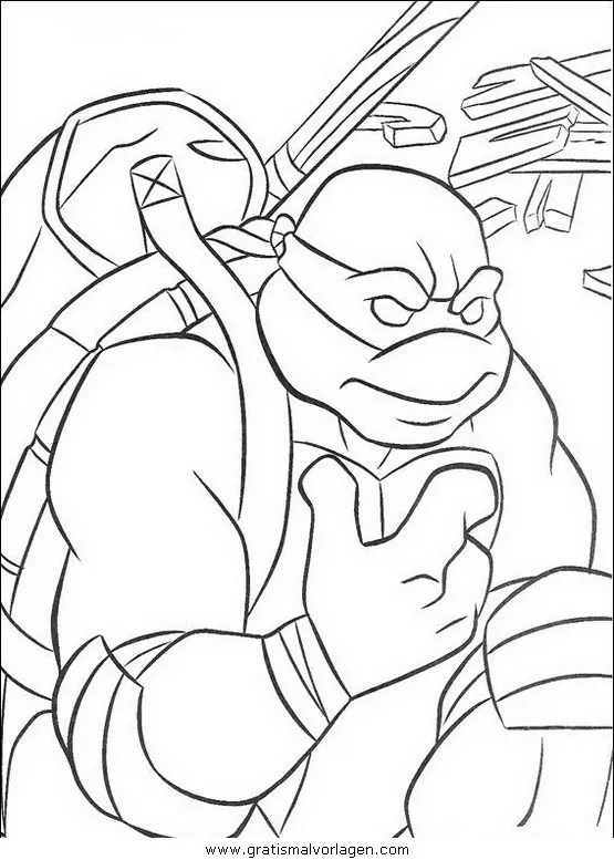 Ninja turtles56 gratis Malvorlage in Comic