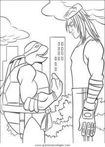 Ninja turtles58 gratis Malvorlage in Comic