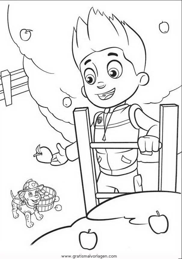 Pawpatrol-ryder-2 gratis Malvorlage in Comic