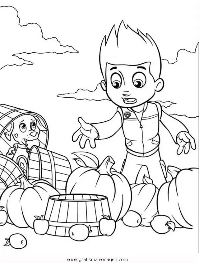 Pawpatrol-ryder-5 gratis Malvorlage in Comic