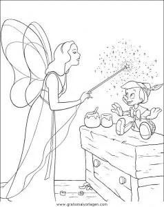 Pinocchio 21 gratis Malvorlage in Comic & Trickfilmfiguren