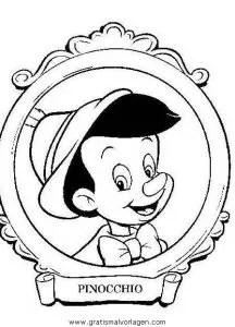 Pinocchio Malvorlage