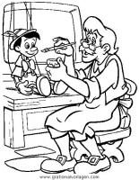pinocchio 34 gratis Malvorlage in Comic & Trickfilmfiguren ...