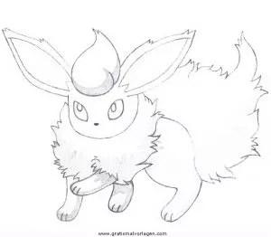 Pokemon Flamara 2 Gratis Malvorlage In Comic