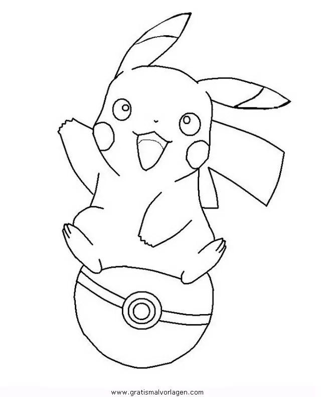 Pokemon-pokeball gratis Malvorlage in Comic