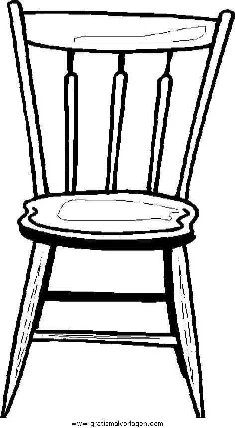 Liegestuhl Malvorlage