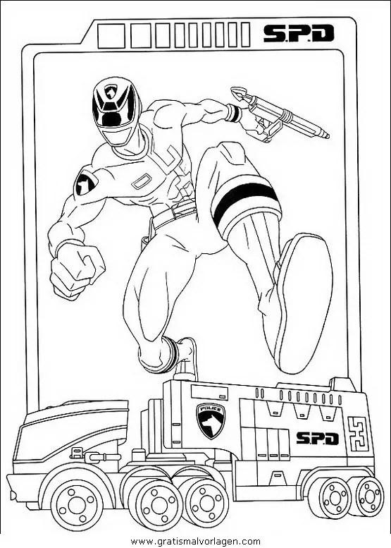 Power rangers 12 gratis Malvorlage in Comic