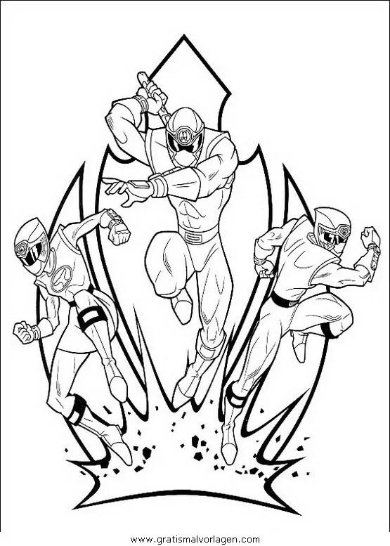 Power rangers 26 gratis Malvorlage in Comic