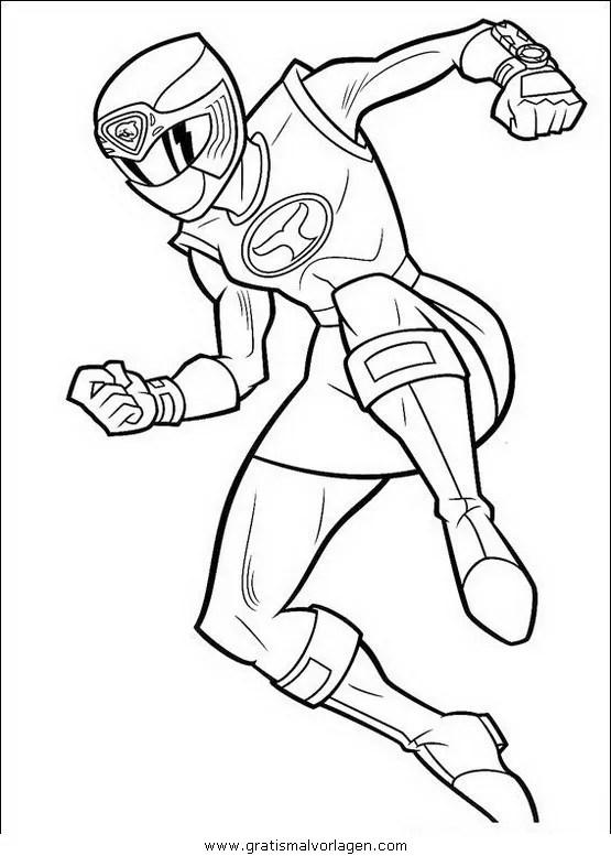 Power rangers 38 gratis Malvorlage in Comic