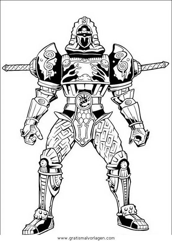 Power rangers 41 gratis Malvorlage in Comic