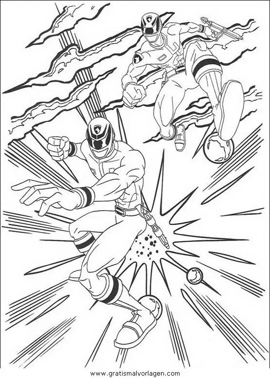 Power rangers 77 gratis Malvorlage in Comic