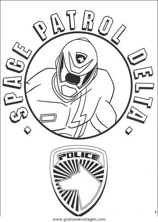 Power rangers 79 gratis Malvorlage in Comic