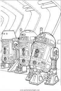 Malvorlage Star Wars