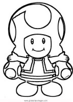 Super Mario Toadette Ausmalbilder   Kinder Ausmalbilder