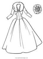 Kleid 2 gratis Malvorlage in Diverse Malvorlagen, Kleidung ...