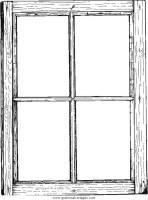 Fenster 1 gratis Malvorlage in Diverse Malvorlagen, Garten ...