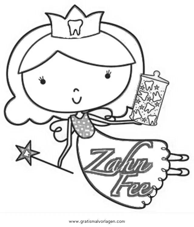 Zahnfee-2 gratis Malvorlage in Beliebt04 Diverse